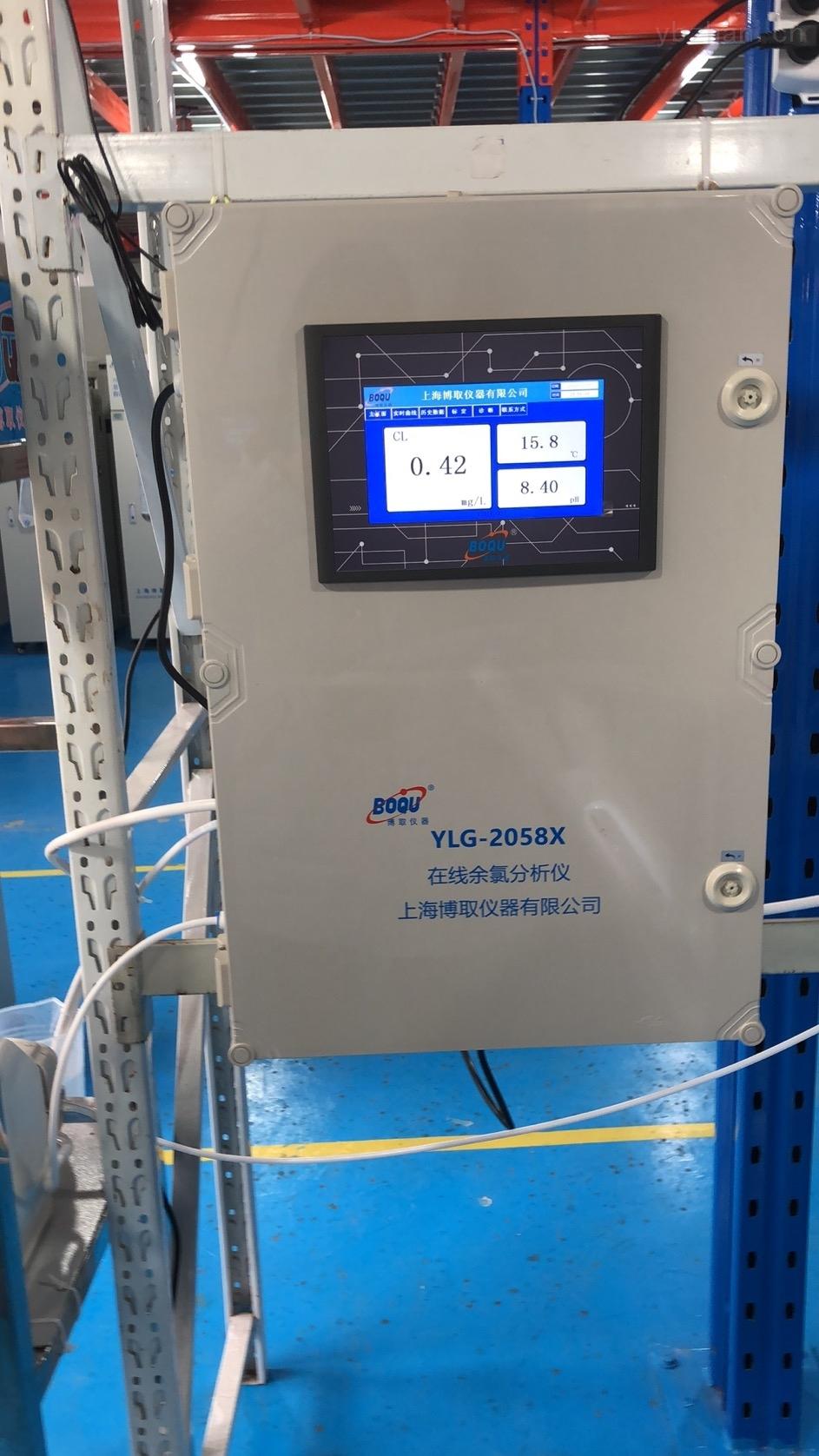 自来水厂安装在线余氯监测仪