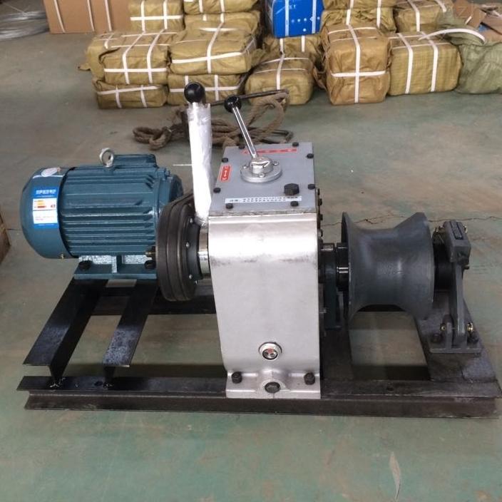 泰州承裝修試三級設備租賃費用--電動絞磨機