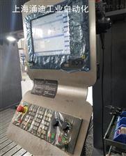 NCU坏西门子840d加工中心轮廓监控报警维修