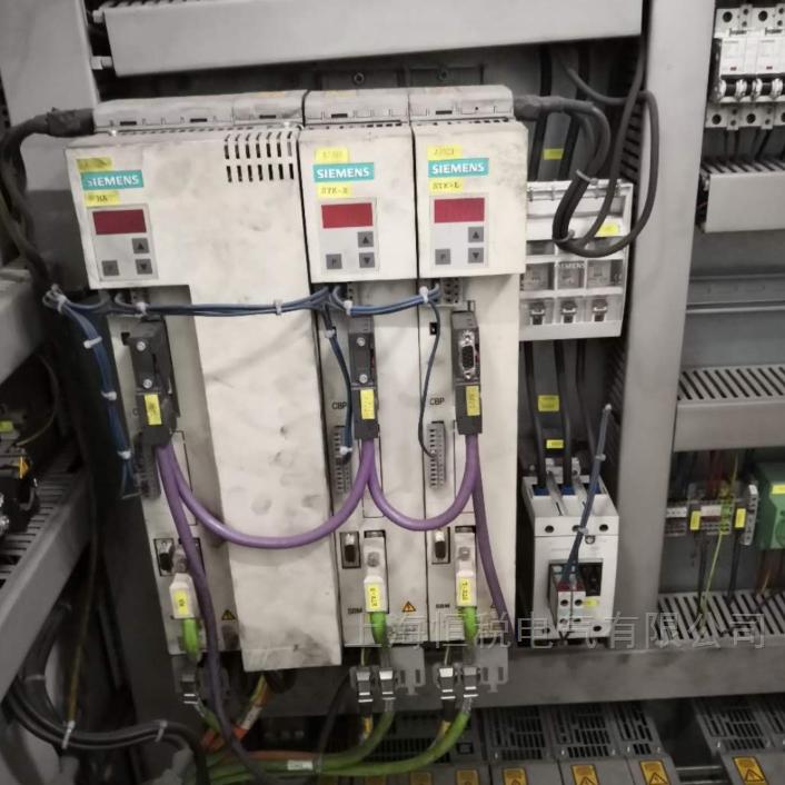 西门子6SE70伺服器通电24V也不显示
