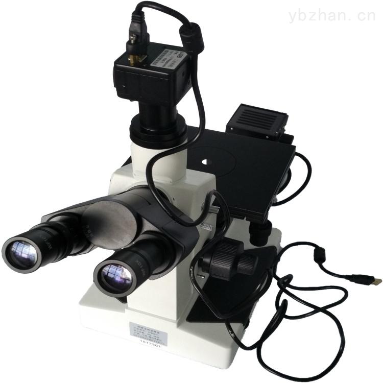 中科普锐-三目倒置金相显微镜