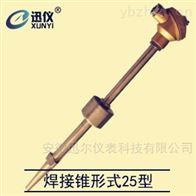 WRNM-430焊接锥形式25型耐磨热电偶