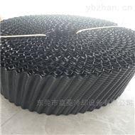 黑色PVC胶片透水性好冷却塔填料,标准PVC胶片