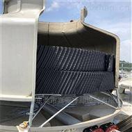 逆流式冷却塔厂家直销125T圆塔