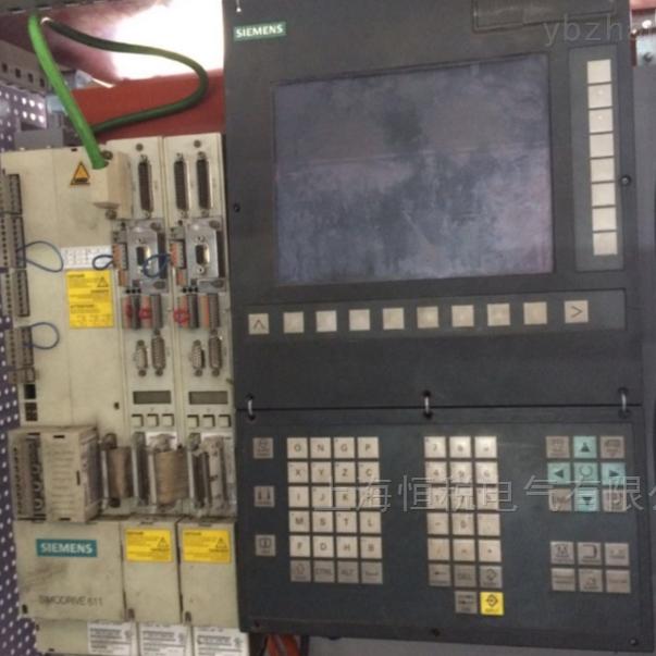 西门子802D数控系统黑屏启动不了修好可测