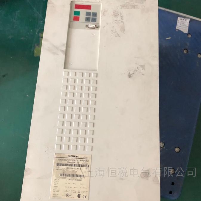 西門子6SE70變頻器運行報F025開不了機