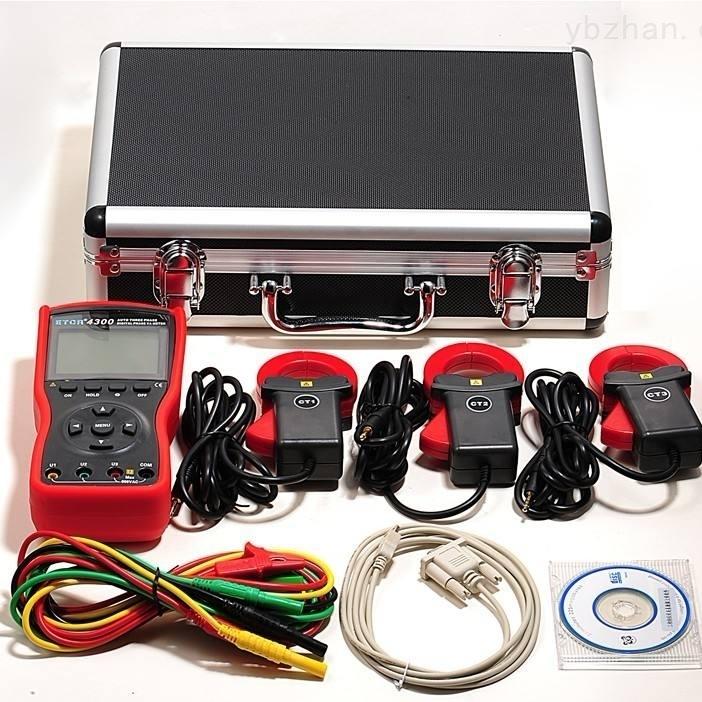 TY电流钳装置数字双钳相位伏安表