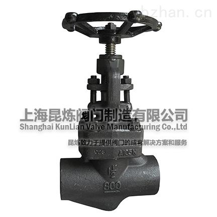 J11H,J61H-锻钢截止阀_电站_铸钢_对焊截止阀_-上海昆炼阀门制造有限公司