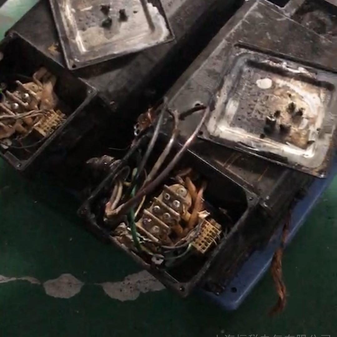 西门子主轴电机抱闸坏修复成功