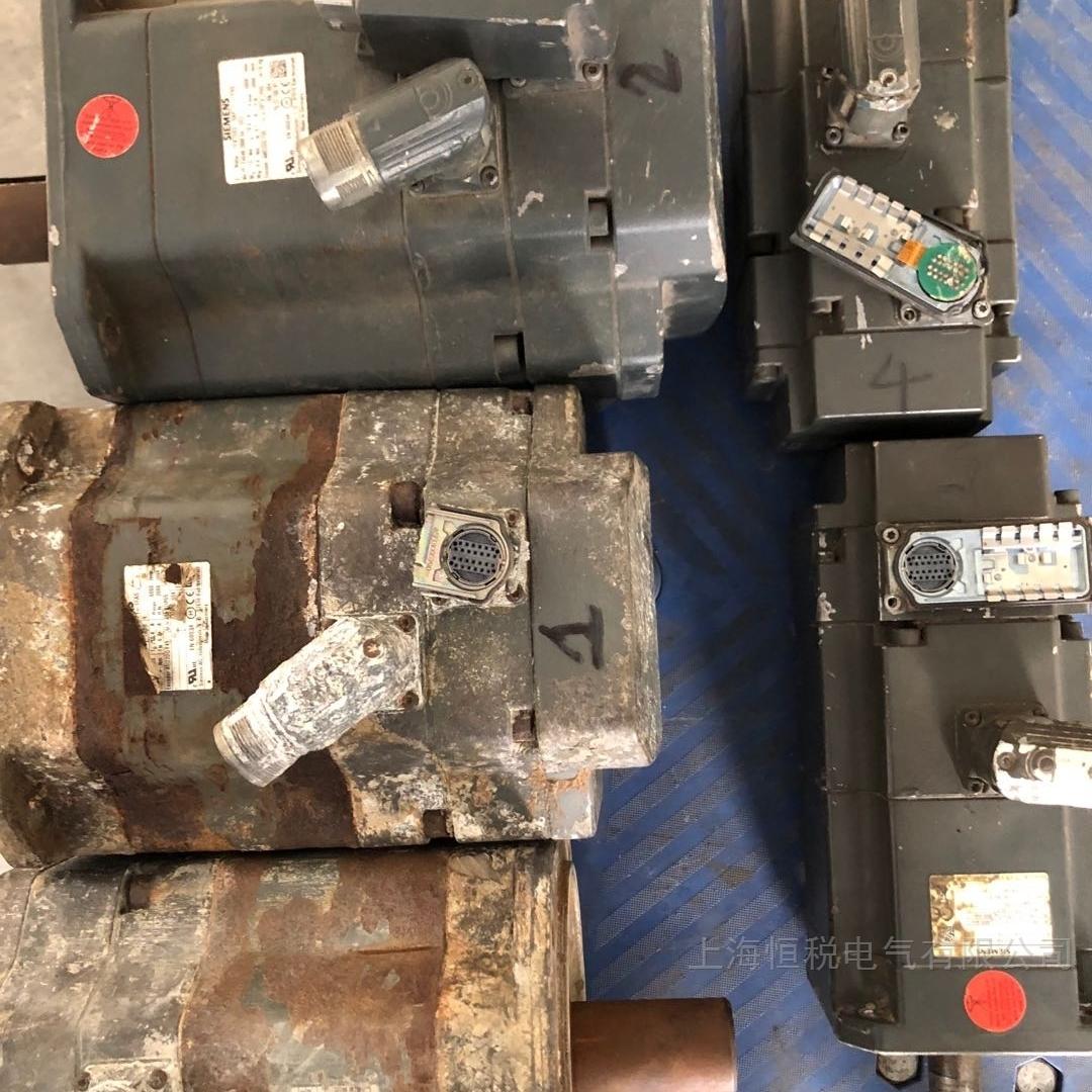 西门子伺服电机一通电就跳闸专业修复公司