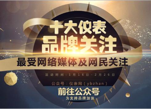 """2016""""十大仪表品牌关注""""数显仪表投票入口已开通"""