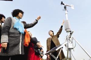 天津东丽区便携式自动站 实时测量天气指数