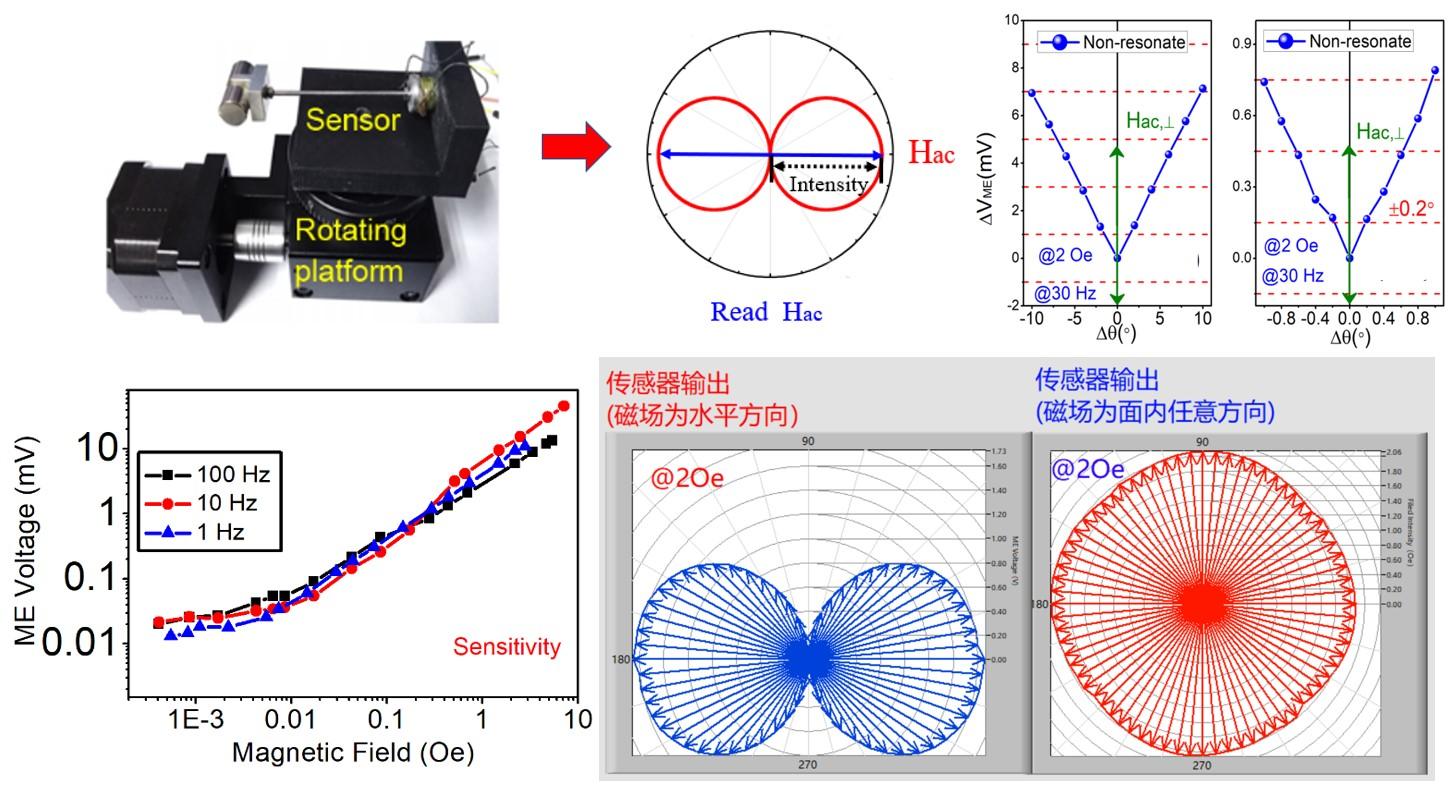 西安交通大學在磁場傳感器研究方面取得重要進展