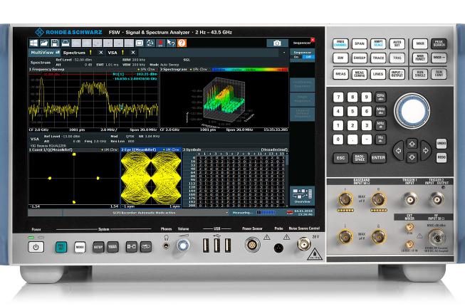 频谱分析仪   罗德与施瓦茨实现亚太赫兹超宽带信号分析