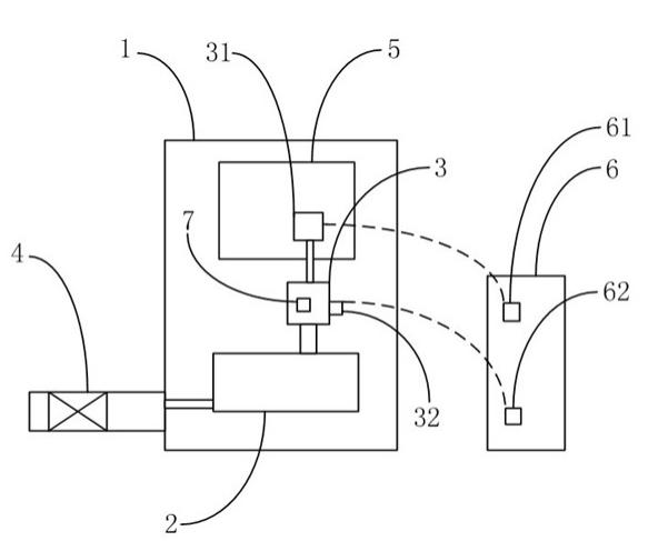 水表壳内装有电路板,电路板上设有霍尔效应开关,霍尔效应开关连接在