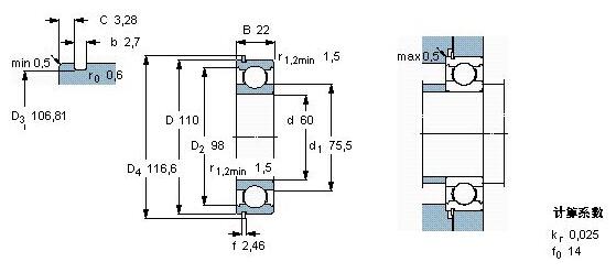 上海旋宇进口NSK6212N轴承样本图