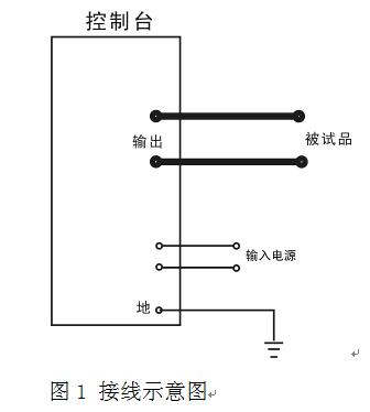 分体式接线图