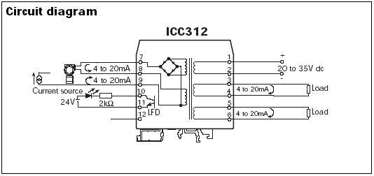 信号隔离器icc312