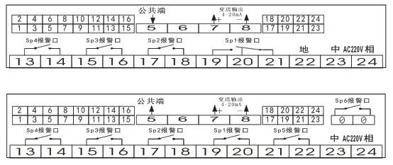 四,仪表接线图