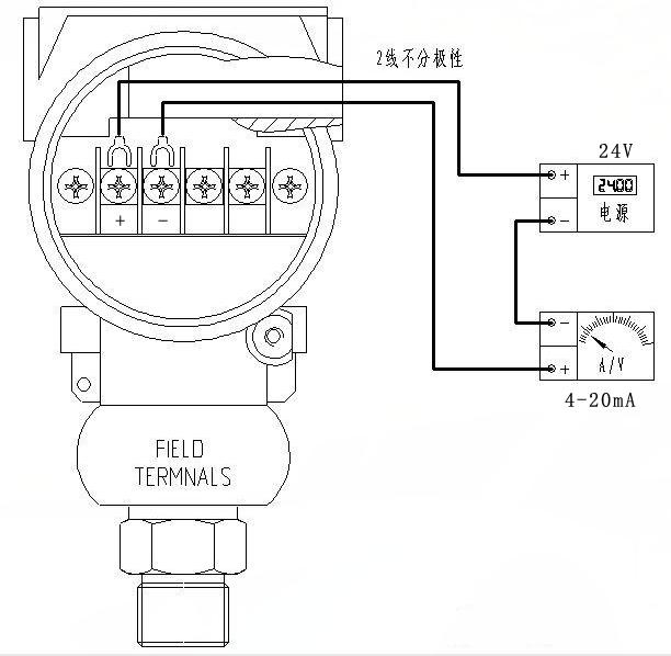 压力变送器接线图及工作原理