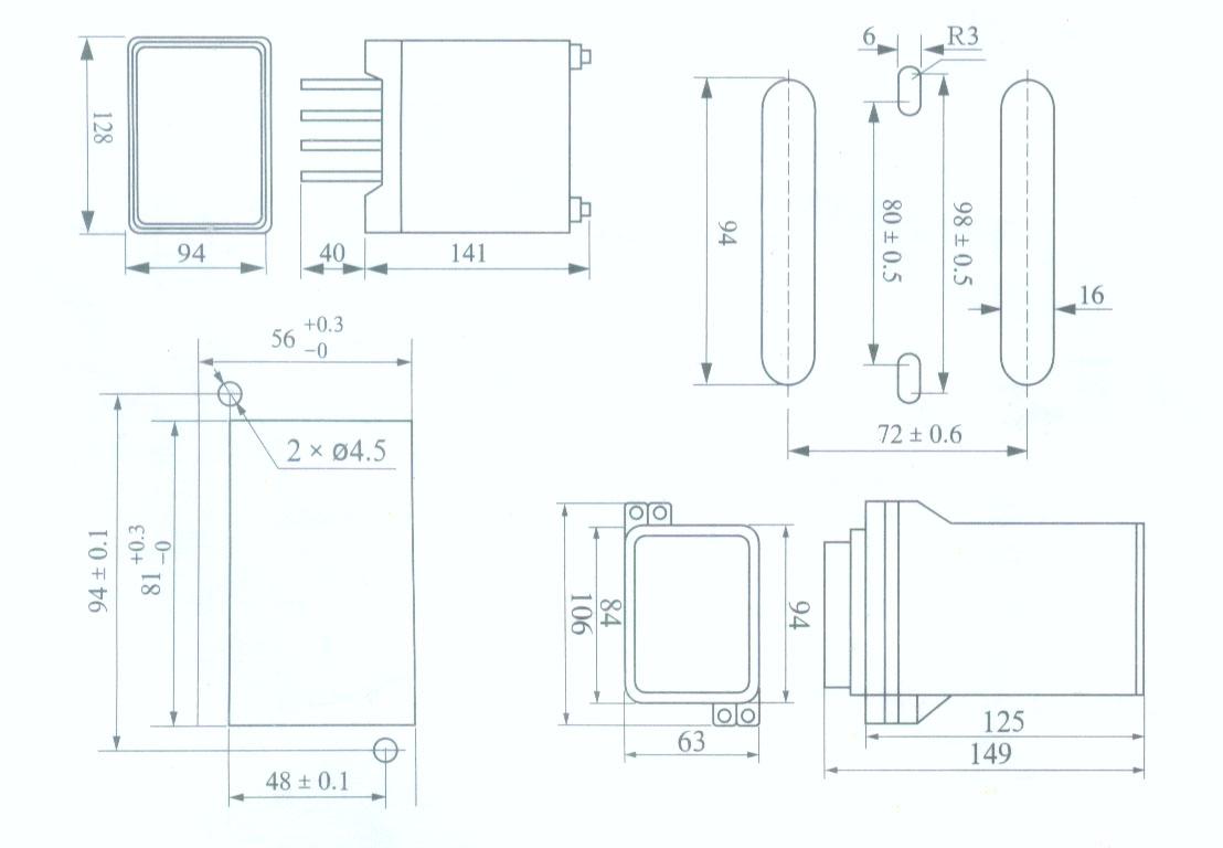 js-103a js-103a时间继电器  js系列时间继电器采用cmos集成电路(zns