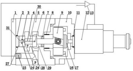 电脑连接转轴结构图