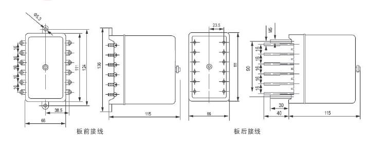 zj4型中间继电器