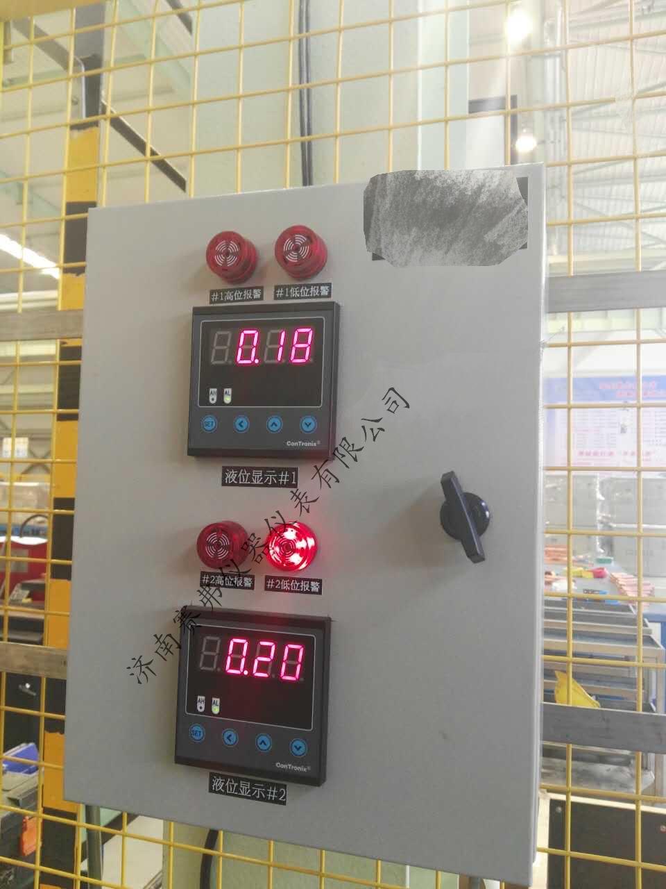 超声波液位计可采用二线制,三线制或四线制技术,二线制为:供电与