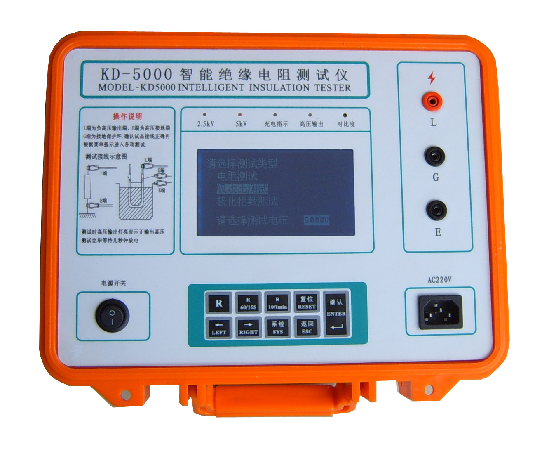 高压绝缘电阻测试仪/电子摇表