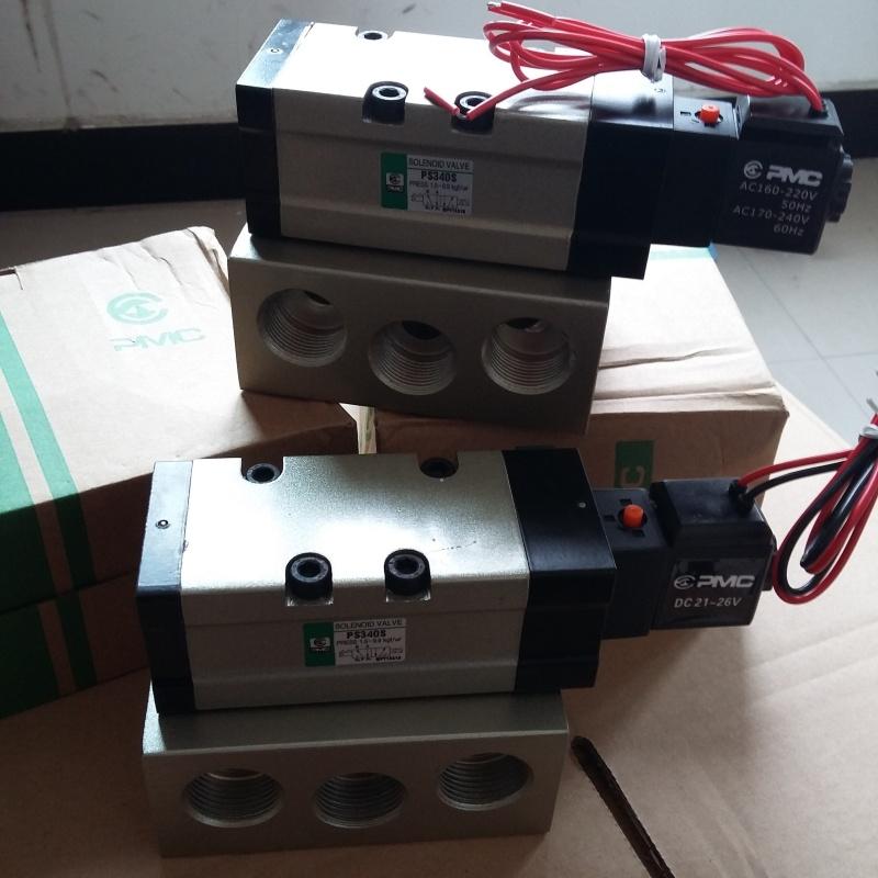 二位五通气动换向电磁阀ps340s图片