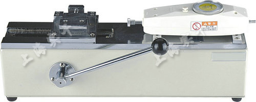 电源线端子拉力测试仪图片 (配SGNK指针推拉力计实验图)