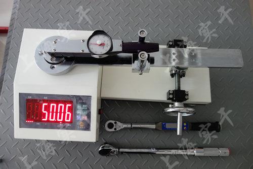 SGXJ扭力扳手检定仪图片 (检定表盘扭力扳手效果图)