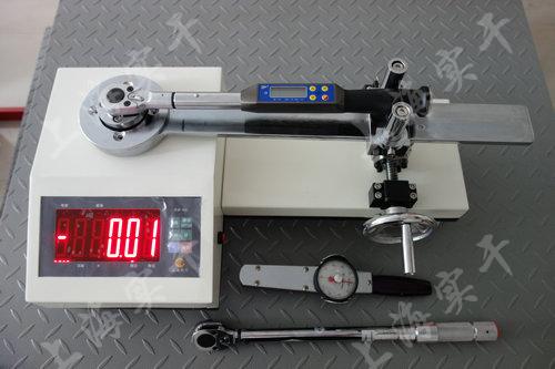SGXJ扭力扳手校准仪图片 (校准数显扭力扳手效果图)