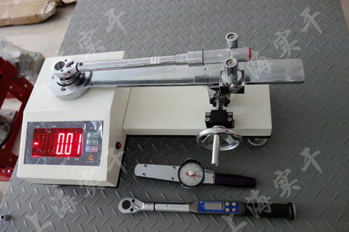SGXJ扭力扳手校准仪图片 (校准预置扭力扳手效果图)