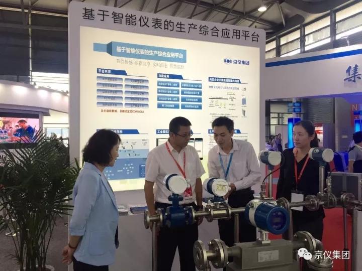 京仪自主产品亮相中国国际测量控制与仪器仪表展会