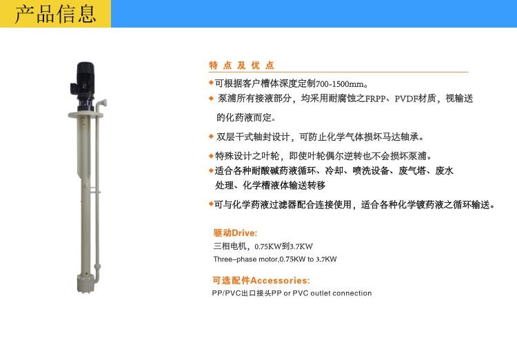 可空转立式泵