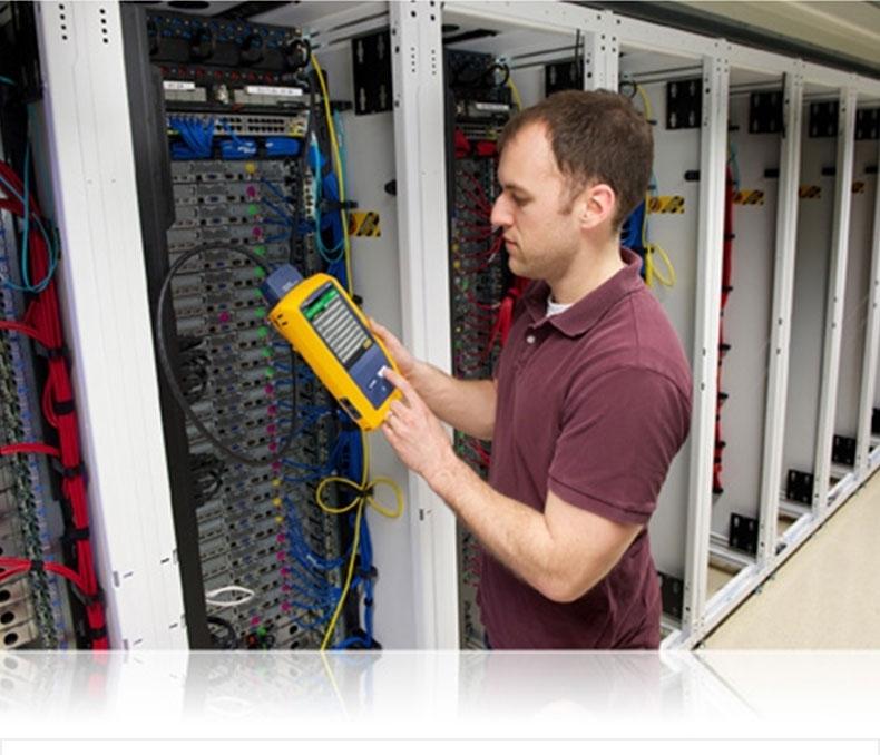 Fluke福禄克DSX-600 CH抗干扰网线铜缆认证分析测试仪